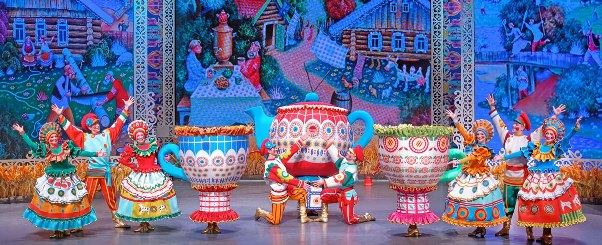 Bright Colours of Russian History at Folk Dance Show